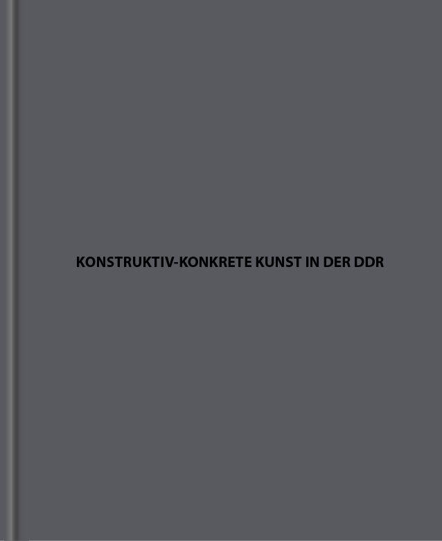 Konstruktiv-konkrete Kunst in der DDR